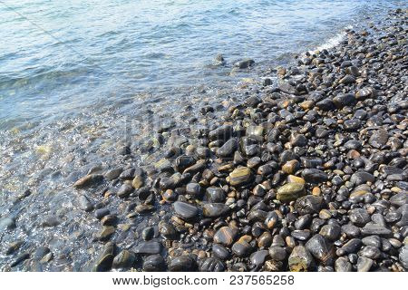 The Beautiful Rocky Beach, Koh Hin Ngam , Tarutao Marine National Park In Satun Province, Thailand