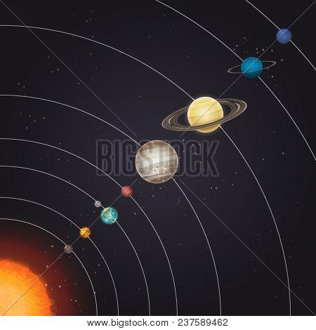Solar System Deep Vector Photo Free Trial Bigstock