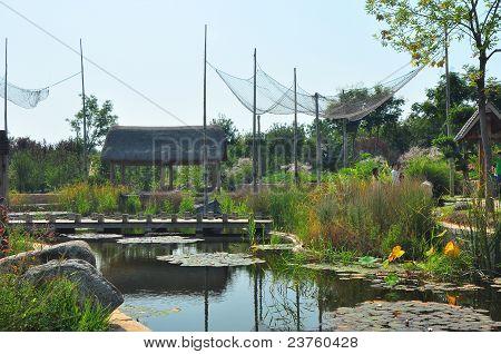 Jinan Expo Garden is the seventh China International Garden