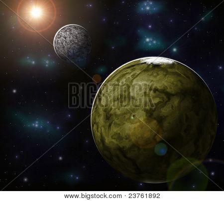 extrasolarer system