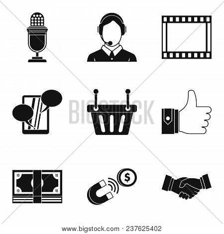 Master The Technology Icons Set. Simple Set Of 9 Master The Technology Vector Icons For Web Isolated