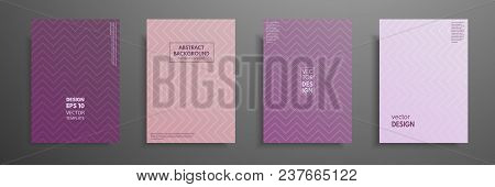 Pastel Covers Design Set. Modern Covers Template Design. Applicable For Design Covers, Presentation,