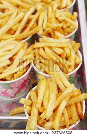 French Fries Is Delicious In The Market