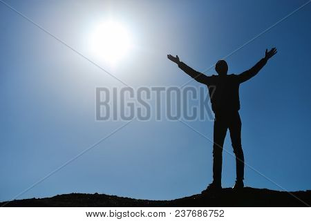 Summit Happiness And Peaceful Life ;bravo And Success