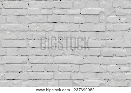 Abstract Light Gray Brick Wall Texture Background, Seamless Tiling Texture