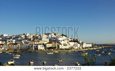 Ferragudo, Portugal In Algarve