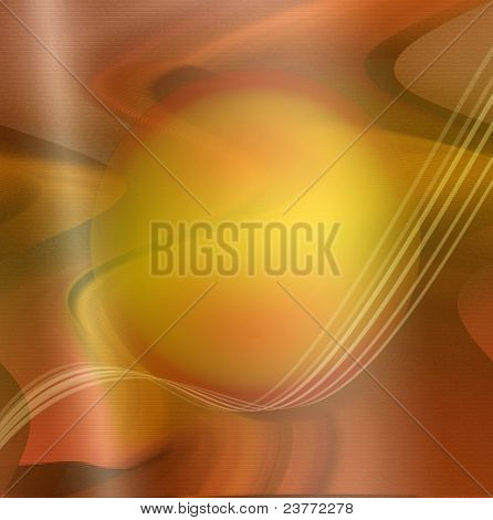 Background with shapes and lines