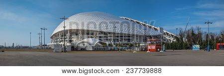 Sochi, Russia - February 25, 2017: Olympic Stadium Fisht