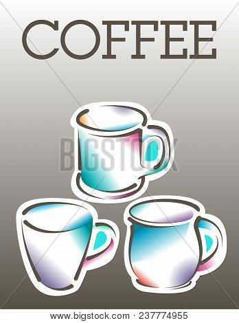 cool coffee poster vector photo free trial bigstock
