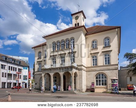 SINDELFINGEN, GERMANY - APRIL 25, 2018: Old town hall of Sindelfingen