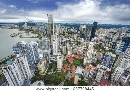 Aerial View From Panama City In Panama