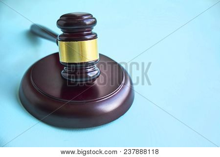 Gavel And Stethoscope. Medical Jurisprudence. Legal Definition Of Medical Malpractice. Attorney. Com