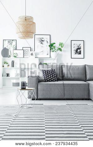 Gallery In Living Room Interior