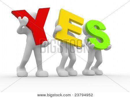 Слово «Да»