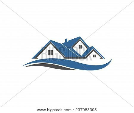 Home House Real Estate Property Building Logo