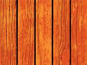 Vector texture of orange wooden board. Distressed timber traced background. Obsolete wood floor or table board. Scalable backdrop for rustic decor. Vintage design overlay with lumber surface grit poster