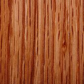Wood pattern texture on a square sample background poster