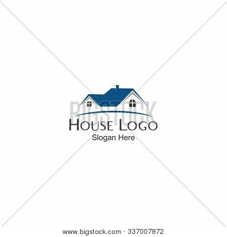 House Logo, House Logo Vector, House Icon, Isolated House Icon Vector With A White Background ,. Sim