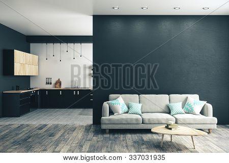 Modern Studio Kitchen Interior