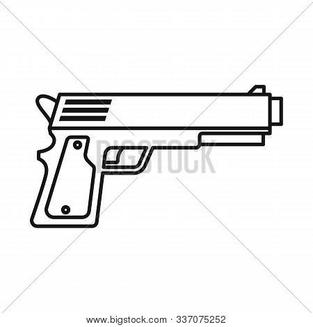 vector design pistol vector photo free trial bigstock vector design pistol vector photo
