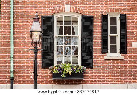 View Of A Exterior Building In Boston Ma, Usa