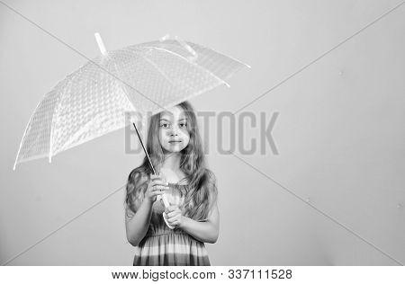 Weather Forecast. Fall Season. Enjoy Rain Concept. Waterproof Accessory. Rainy Days Coming. Love Rai
