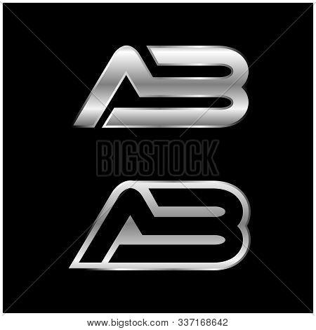 Ab Letter Type Logo Design. Ab Logo Vector Template. Creative Ab Logo. Letter Ab Logo. Ab Logo. Ab F