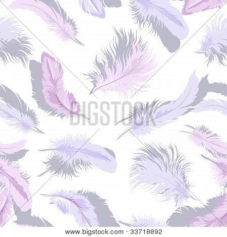Light Feathers Seamless