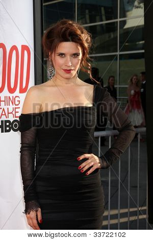 LOS ANGELES - MAY 30:  Valentina Cervi arrives at the
