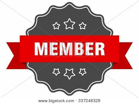 Member Red Label. Member Isolated Seal. Member