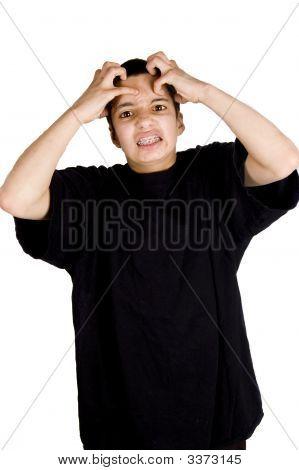 Frustrated Teenage Boy
