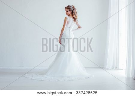 Bride Wedding Gown White Wedding Love White