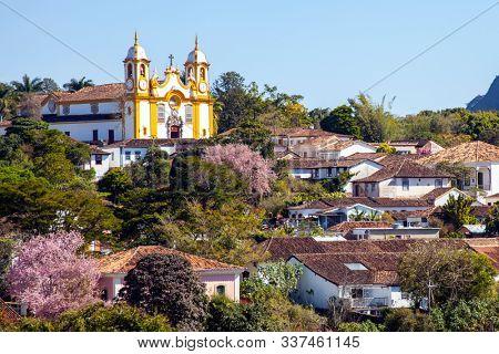 Historic City of Tiradentes in Minas Gerais