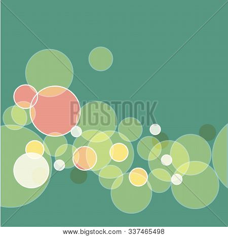 Colorful The Background Bokeh. Abstract Geometric Shape. Beautiful The Background Bokeh, Great Desig