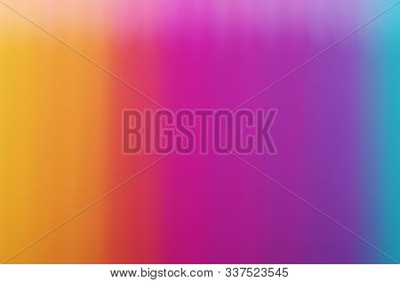 Multicolor light rainbow abstract blurred background.