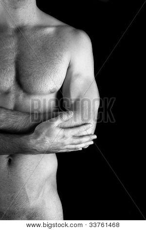 Muscular Nude Man