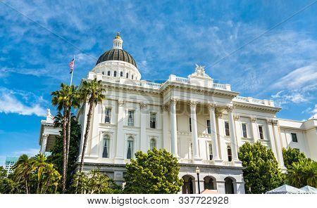 California State Capitol Building In Sacramento, United States