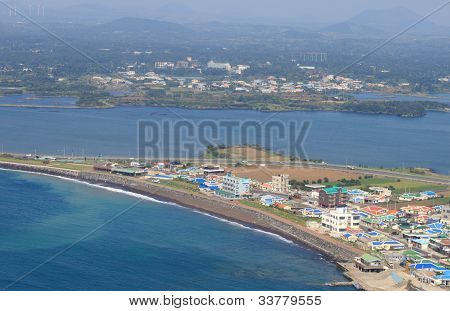 landscape of jeju island
