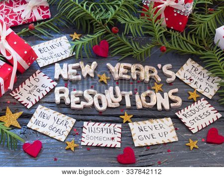 New Year's Resolutions, concept, New Year, New decisions