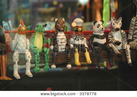 Animal Sit Doll