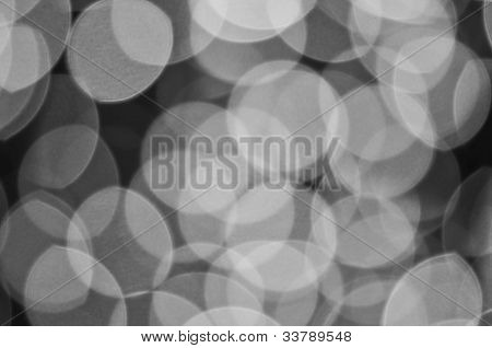Defocused Abstract Background Of The Lights