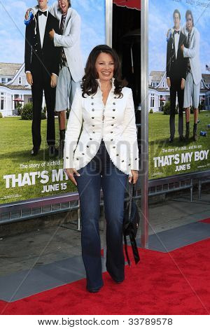 LOS  ANGELES- JUN 4: Fran Drescher at the premiere of Columbia Pictures' 'That's My Boy' at the Regency Village Theater on June 4, 2012 in Los Angeles, California