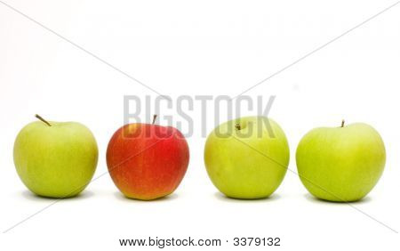 Isolated Apples