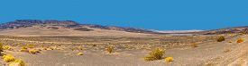 Panoramic View Of Death Valley National Park, California Usa