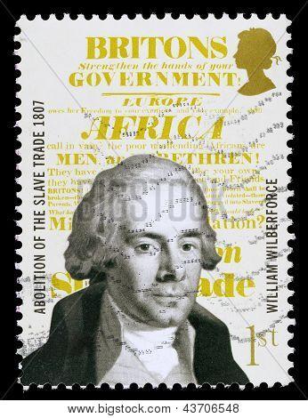 Britain William Wilberforce Postage Stamp