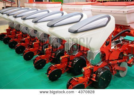 The Agricultural Equipment For Fertilizer Of Fields