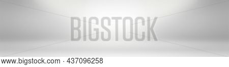 Abstract Luxury Plain Blur Grey And Black Gradient, Used As Background Studio Wall For Display Your