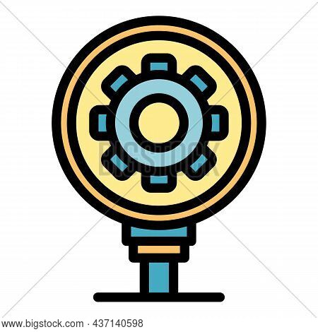 Strategy Innovation Icon. Outline Strategy Innovation Vector Icon Color Flat Isolated