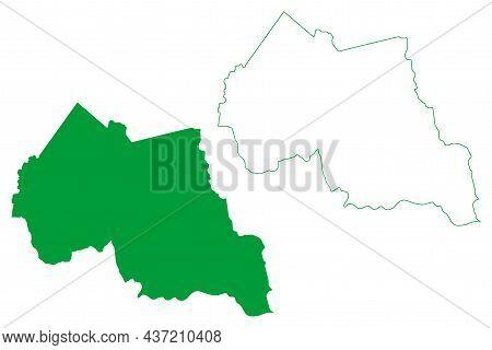 Tanque Novo Municipality (bahia State, Municipalities Of Brazil, Federative Republic Of Brazil) Map