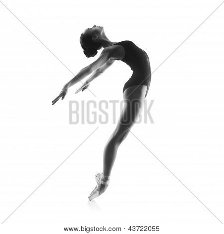 Young balet dancer